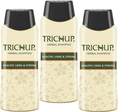 Trichup Healthy Long & Strong Herbal Hair Shampoo ( 200 ml) (Pack of 3)