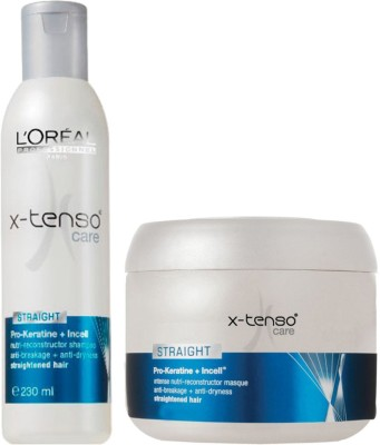 L'Oreal Paris Professionnel Xtenso Care Shampoo (230 ml) & masque (250 ml)(480 ml) at flipkart
