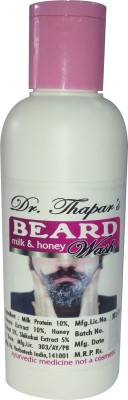 Dr. Thapar's Beard Wash with Milk & Honey
