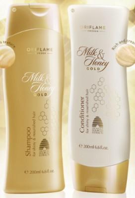 Oriflame Milk & Honey Shampoo and Conditioner