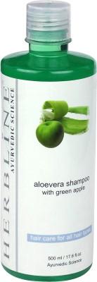 Herbline Aloe Vera Shampoo with Green Apple