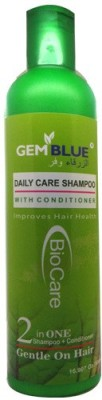 BioCare GemBlue Daily care Shampoo With Conditioner 2 in one Gentle On Hair
