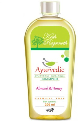 Kesh Regrowth Almond & Honey Ayurvedic Medicinal Shampoo