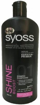 Syoss Shine Boost keratin shampoo