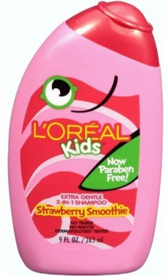 L, Oreal Paris Professionnel Kids 2-In-1 Shampoo For Extra Softness, Strawberry Smoothie (Pack of 3)