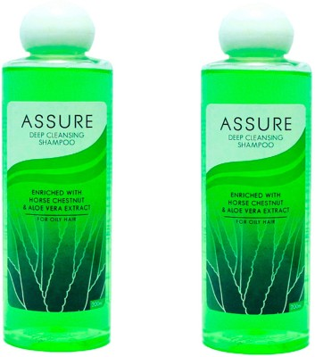 Assure Deep Cleansing Shampoo (Pack of 2)