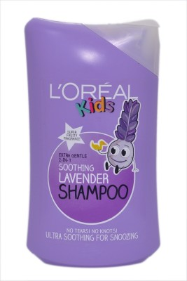 L,Oreal Paris Extra Gentle 2 In 1 Soothing Lavender Shampoo Super Fruity Fragrence