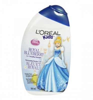 L, Oreal Paris Professionnel Kids Royal Blueberry 2 In 1 Smoothie Shampoo