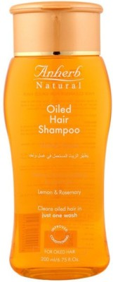 Anherb Combo of Cleanser For Oiled Hair (Pack of 3)