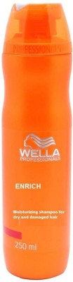 Wella Professionals Enrich moisturizing Shampoo(250 ml) at flipkart