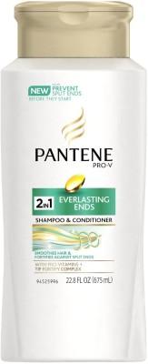 Pantene Pro-V Everlasting Ends 2-in-1 Shampoo & Conditioner 675ml