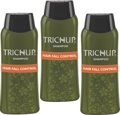 Trichup Hair Fall Control Herbal Shampoo (200 ml) (Pack of 3)