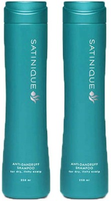Amway Satinique Anti Dandruff Shampoo - 250Ml (Set Of 2)
