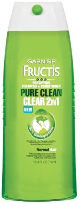 Garnier Fructis Pure Clean 2 - In - 1 Shampoo And Conditioner For Normal Hair