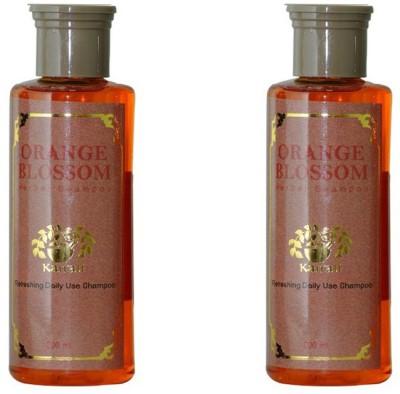 Kairali Orange Blossom Shampoo (200 ml) - herbal Refreshing daily use shampoo