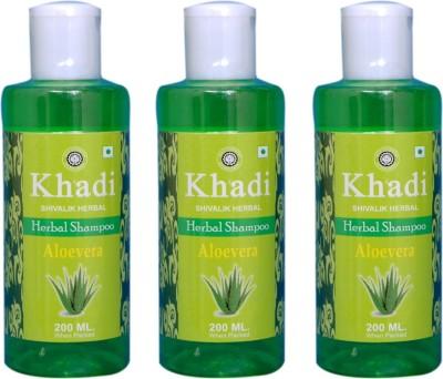 Khadi Natural Alovera Herbal Shampoo