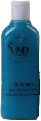 SaND for Soapaholics Minty Blue Shampoo (SLS Free)