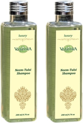 Vedantika Neem Tulsi Shampoo - Twin Pack