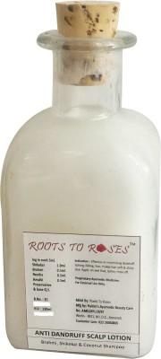 Roots To Roses Antidandruff Bhrahmi and Shikekai Coconut Shampoo
