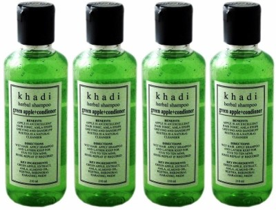 Khadi Herbal Green Apple + Conditioner