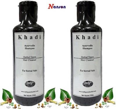 Nanson Khadi Herbal Hair Cleanser Ayurvedic Neem Shampoo
