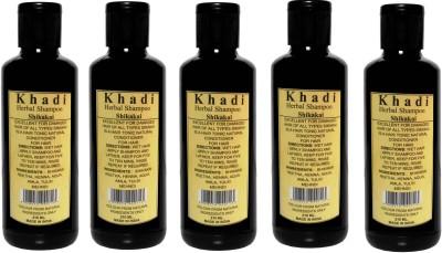 Parvati Khadi Gramudyog Sikakai Shampoo set 5 pcs