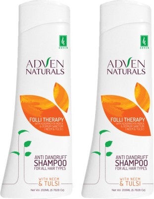 Adven Naturals Neem & Tulsi (Pack of 2)