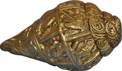 Gathbandhan Decorative Shankh(Gold)