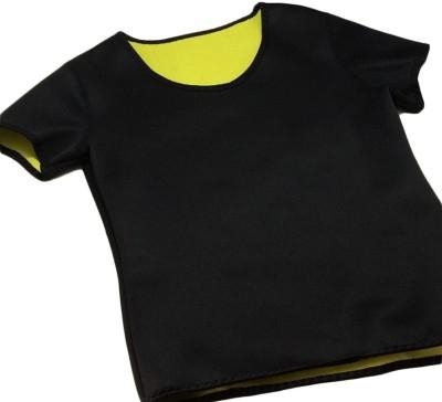 Being Trendy Solid Women's V-neck Black T-Shirt