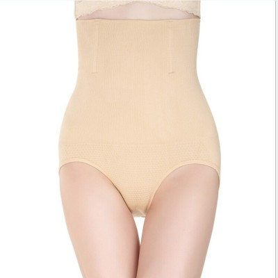 PrivateLifes Beige Tummy Shaping Brief With Wire No Rollback Womens Shapewear