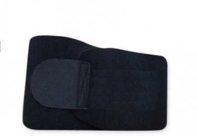 Benison India Waist trimmer Sweat sweet Slimming Belt(Black)