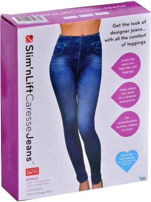Wonder World Slim Fit Women's Blue Jeans
