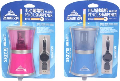 Chrome Table Electronic Single Pencil Sharperners