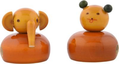 Anuradha Ganesh/Teddy Bear Single Pencil Sharperners(Set of 2, Multicolor)