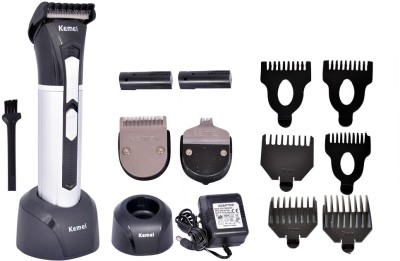 Kemei KM-3007 Trimmer For Men(Black) at flipkart