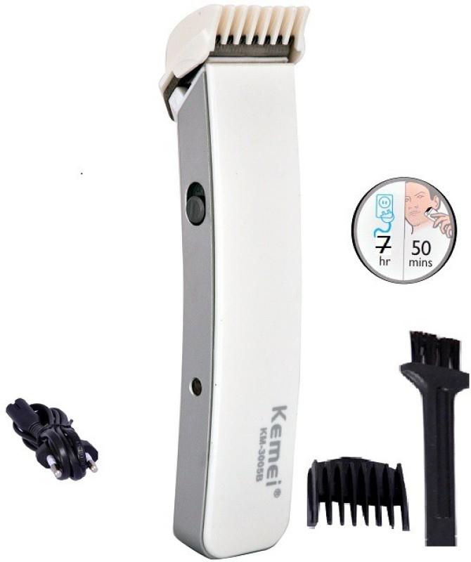 Kemei Km-3005b Won Shaver Trimmer For Men(White)
