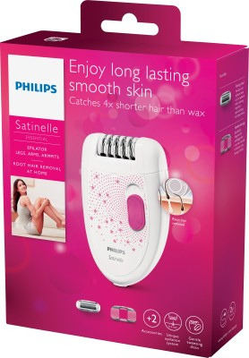 Philips Satinelle Essential BRE201/00 Epilator For Women