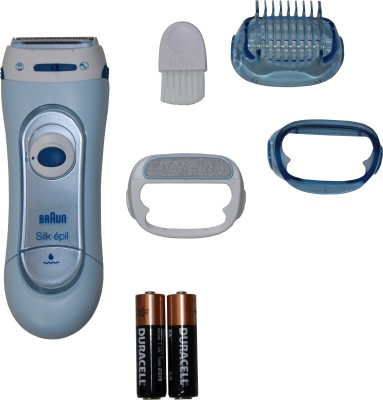 Braun LS 5160 Silk & Soft Shaver For Women(Blue)