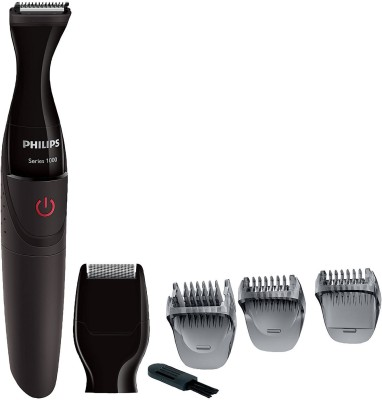 Philips MG 1100 Trimmer For Men(Black) at flipkart