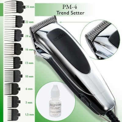 Andis PM4 Trendsetter 9-Piece Home Grooming Kit Trimmer