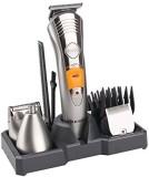 Kemei KM-580A 7 IN 1Multi Grooming KIT Grooming Kit For Men (Multicolour)