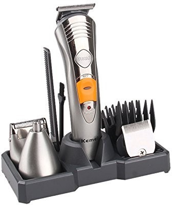 Kemei KM-580A 7 IN 1Multi Grooming KIT Grooming Kit For Men(Multicolour)
