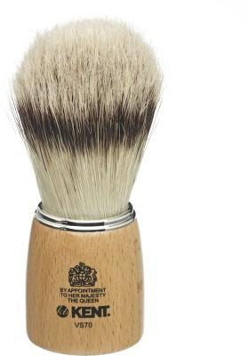 Kent WoodenSSocket Large Pure Bristle Badger Effect Shaving Brush