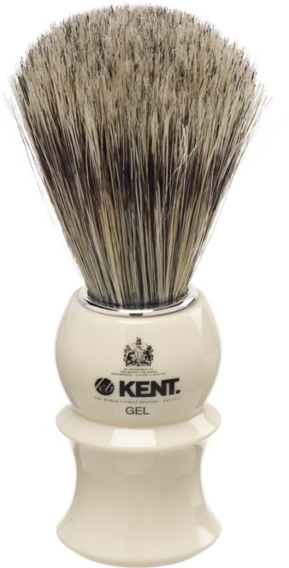 Kent White socket-blended filaments Shaving Brush