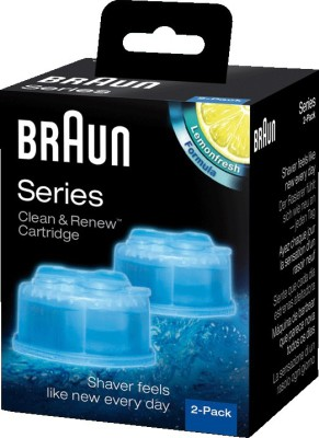 Braun Clean & Renew Cartidges(Pack of 2)