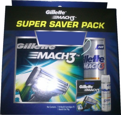 gillette Mach 3 Catridges with Offer