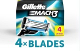 Gillette Mach 3 Cartridges (Pack of 4)