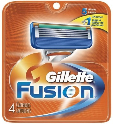 gillette Fusion Replacement Cartridges - 4