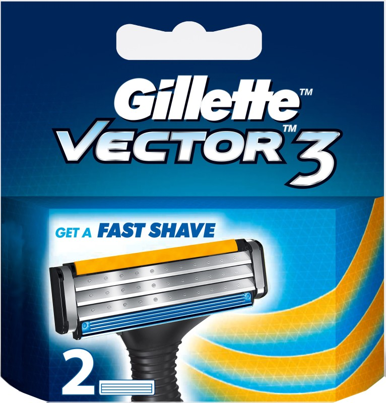 Gillette Vector 3(Pack of 2)