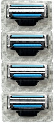 Ameego VENUS COMPATIBLE 4 BLADE SHAVING CARTRIDGES(Pack of 4)